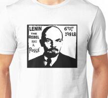 Vladimir Lenin Has A Posse - Obey Andre the Giant - Shepard Fairey communism parody Unisex T-Shirt