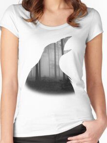 Cuervos Women's Fitted Scoop T-Shirt