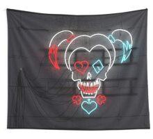 Neon Harley Quinn Wall Tapestry