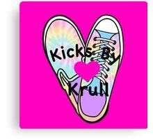 Kicks By Krull Canvas Print