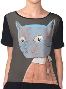 Cat Child Takes a Walk Chiffon Top