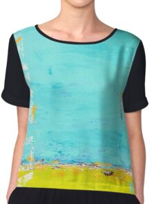 """Saltwater Love"" Chiffon Top"