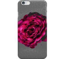 Subtle Plaid Rose Graphic iPhone Case/Skin