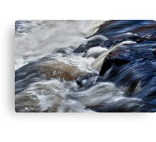 White Water at Ragged Falls, Algonquin Park, ON, Canada Canvas Print