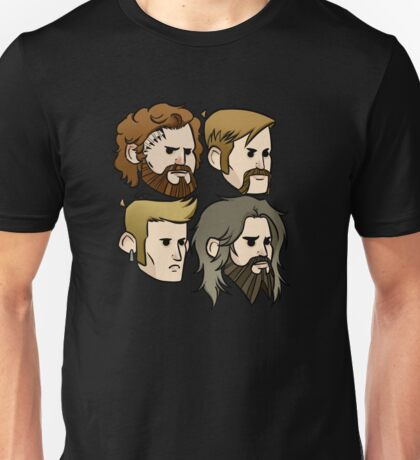 MASTODON cartoon quartet Unisex T-Shirt