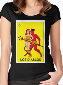 Los Diablitos Women's Fitted Scoop T-Shirt
