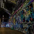 Graffiti Leake Street by liberthine01