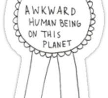 Most Awkward Award Sticker