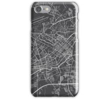 Ho Chi Minh City Map, Vietnam - Gray iPhone Case/Skin
