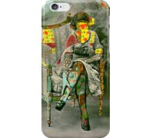The Torn Wallpaper. iPhone Case/Skin