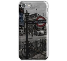 Piccadilly Circus London iPhone Case/Skin