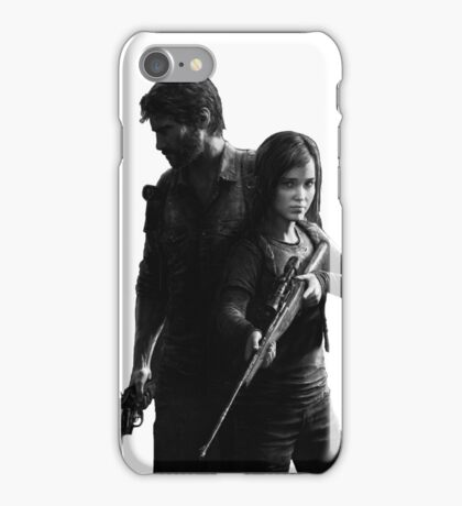 Last of Us remastered no black background iPhone Case/Skin