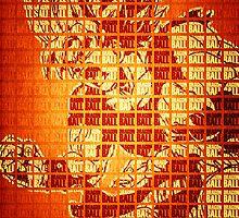 Super Saiyan Goku typographtee by FOGdark