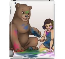 Finger Painting! iPad Case/Skin