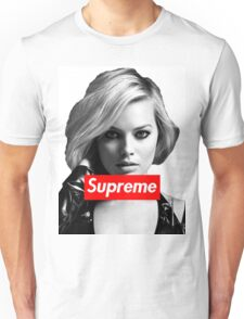 Margot Robbie Supreme B&W  Unisex T-Shirt