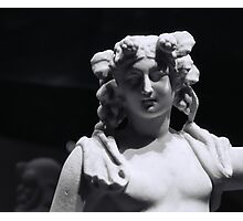 Statue of Dionysus Photographic Print