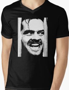 Where is Here's Johnny! in The Shinning Mens V-Neck T-Shirt