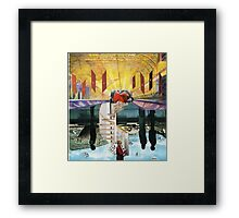 Virtual Heaven Framed Print