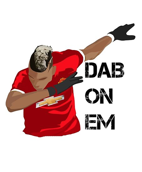 Quot Dab On Em Pogba Quot Posters By Doodless Redbubble