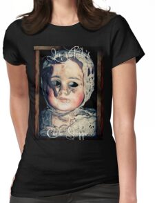 Jen Victrola's Curio Shoppe Goodies Womens Fitted T-Shirt