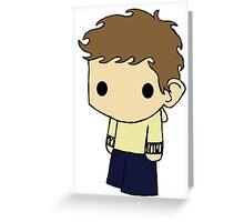 Tiny Isaac Greeting Card