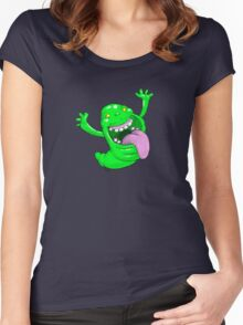 Slime party Women's Fitted Scoop T-Shirt