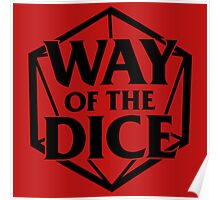 Way of the Dice Emblem Poster