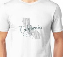 California State Typography Unisex T-Shirt