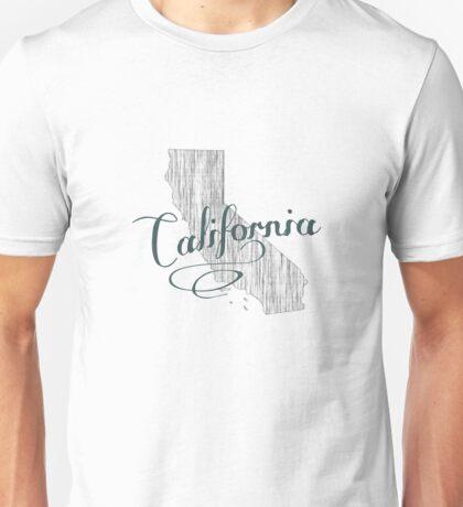 California State Typography Unisex T-Shirt