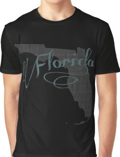 Florida State Typography Graphic T-Shirt