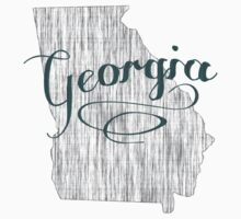 Georgia State Typography One Piece - Long Sleeve