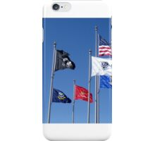 U.S. Flag, POW/MIA Flag, Armed Forces Flags iPhone Case/Skin