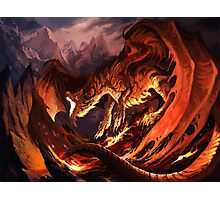 Dragon Tshirt Photographic Print