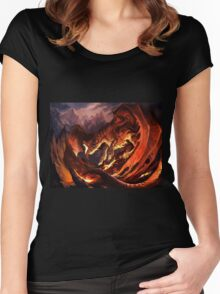 Dragon Tshirt Women's Fitted Scoop T-Shirt