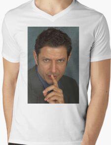 Jeff Goldblum Mens V-Neck T-Shirt