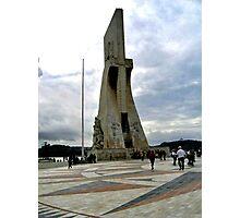 DISCOVERIES MONUMENT-TAGUS RIVER  LISBON Photographic Print