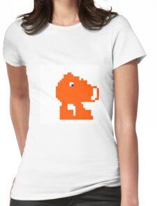 Q-Bert Womens Fitted T-Shirt