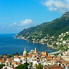 .. view on Vietri / Salerno / Italy by Rachel Veser