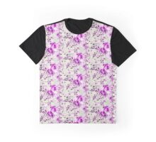 Pink Spills Graphic T-Shirt