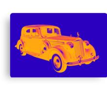 Colorful Packard Luxury Car Pop Art Canvas Print