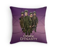 Dork Dynasty Throw Pillow