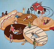 Doughnut Selection by Stephen-Sharpe