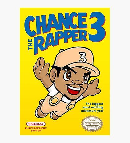 Chance 3 x Super Mario World 3 Mashup Photographic Print