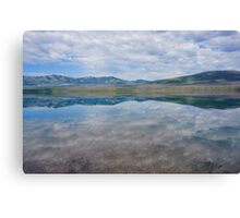Mirror, Lake McDonald, Montana Canvas Print
