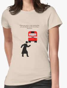 Bus Driver Womens Fitted T-Shirt