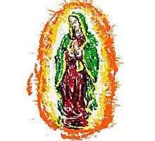 Our Blessed Virgin Mary Photographic Print