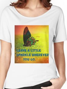 Leave a little Sparkle Women's Relaxed Fit T-Shirt