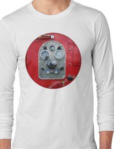 Gauges on Vintage Fire Truck  Long Sleeve T-Shirt