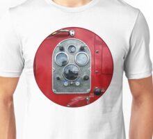 Gauges on Vintage Fire Truck  Unisex T-Shirt