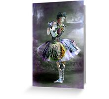 Ballerina. Greeting Card
